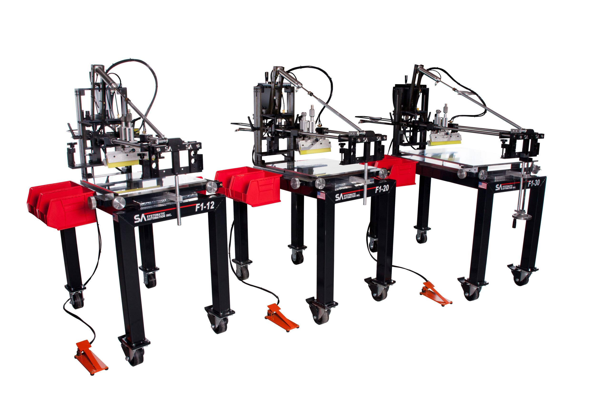 Model F1 Screen Printer Series