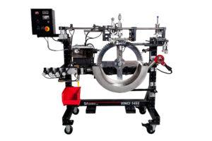 vinci, cylindrical, screen printer