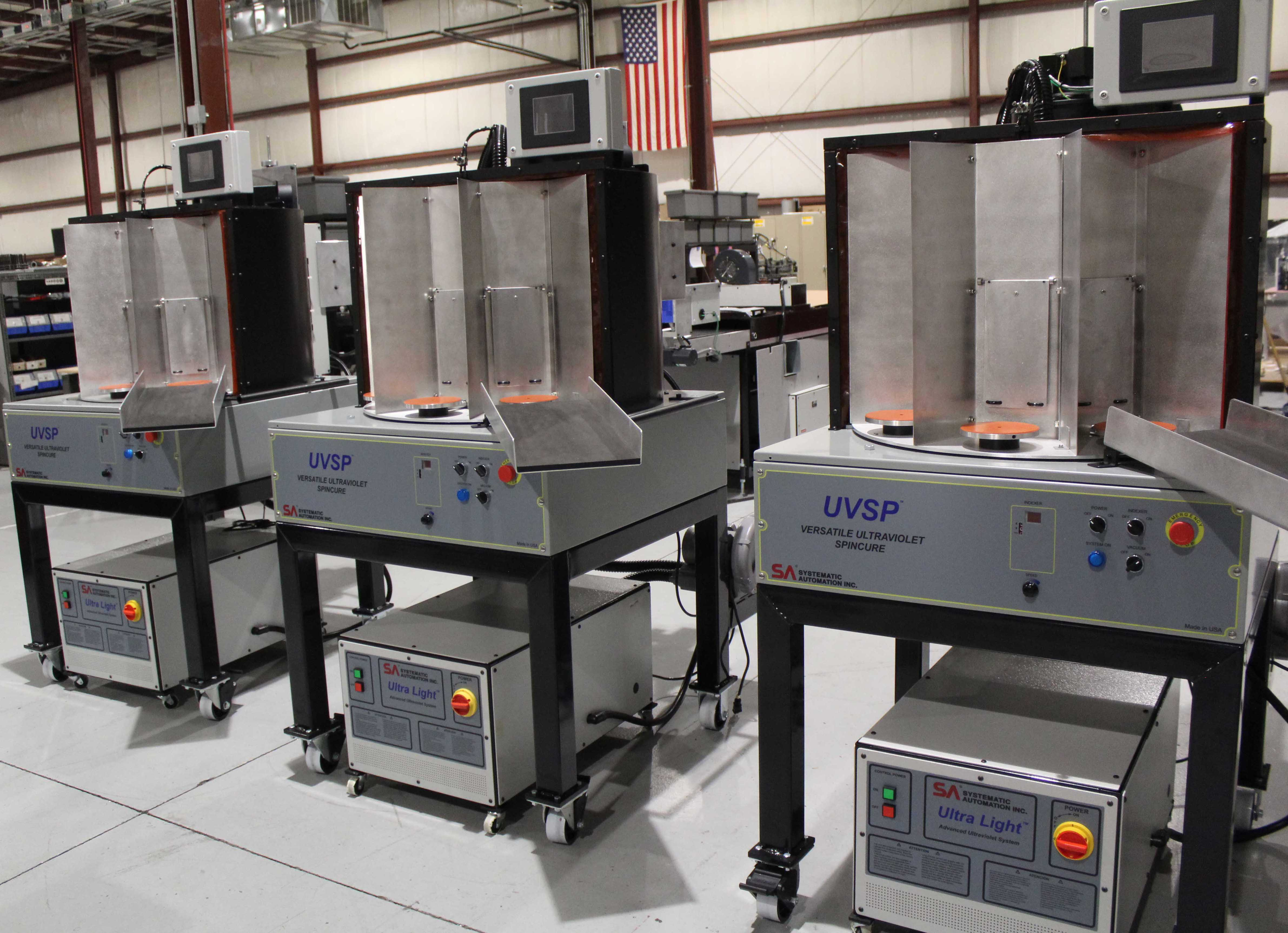 UVSP, uv curing, cylindrical products