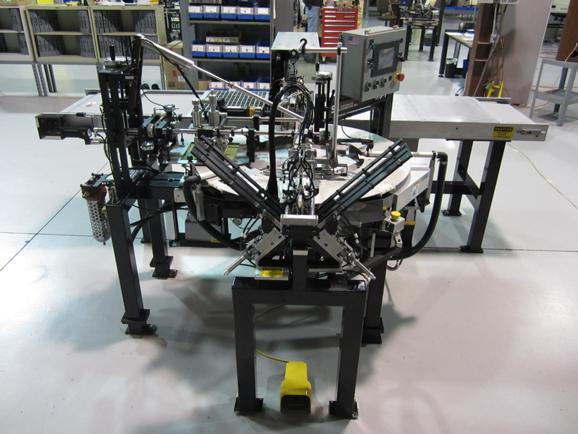 Microscope slides screen printer