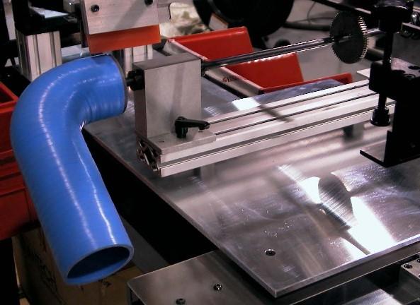 Automotive silicone hose screen printer