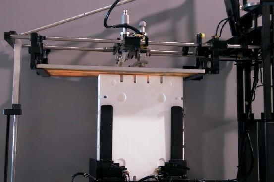 Foam container screen printer