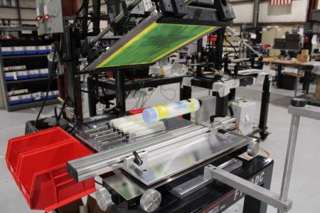 bottle screen printer, model f1-dc