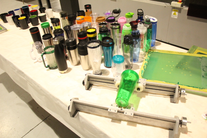 BOTTLE SCREEN PRINTER, MODEL F1-DC