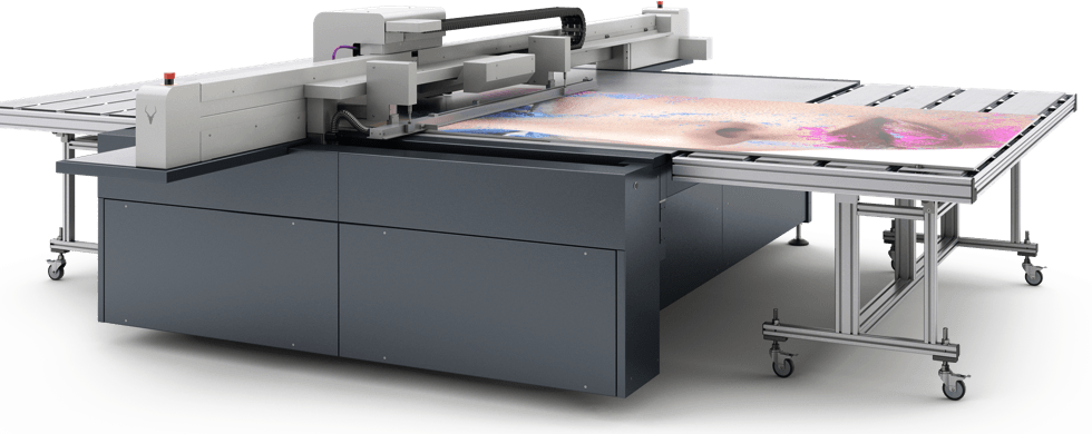 Vacuum Tables For Digital Inkjet Flatbed Printers