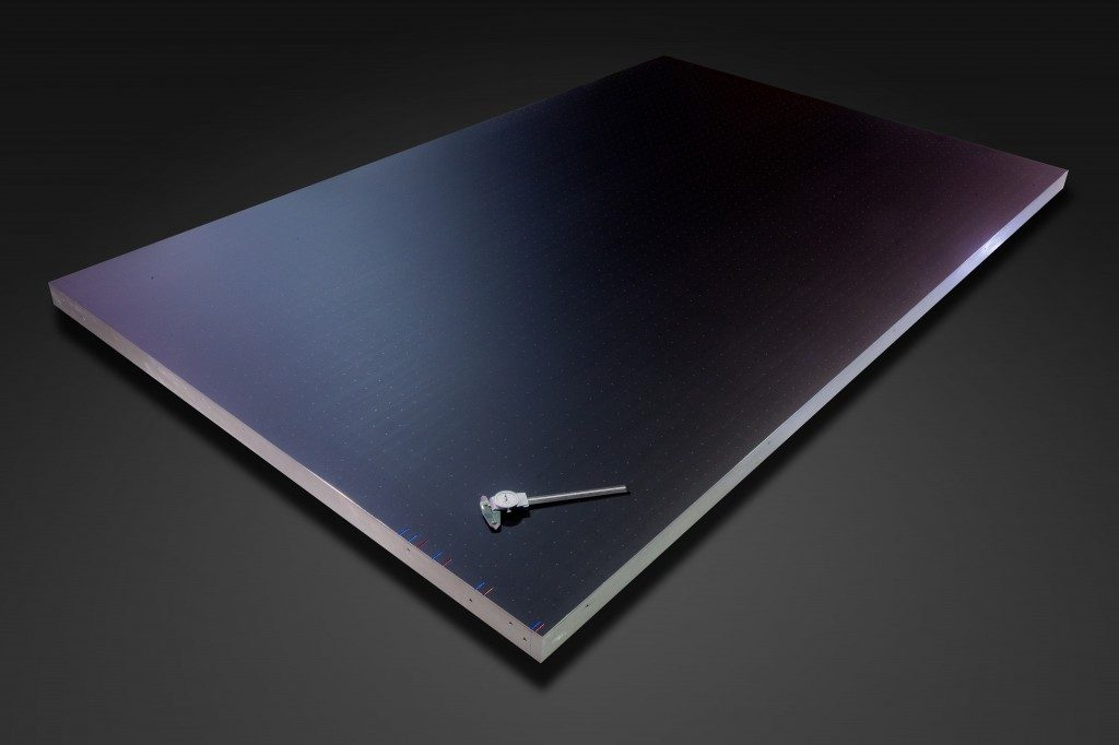 Anodized vacuum table
