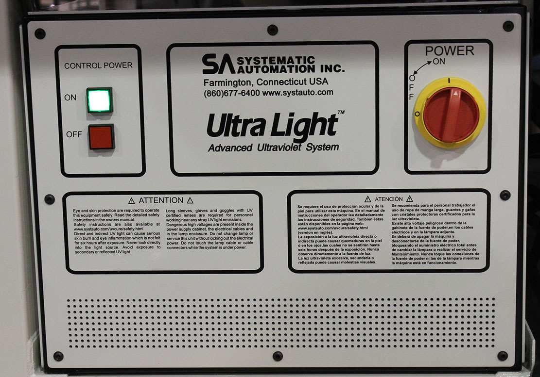 Ultra Light UV power supply unit