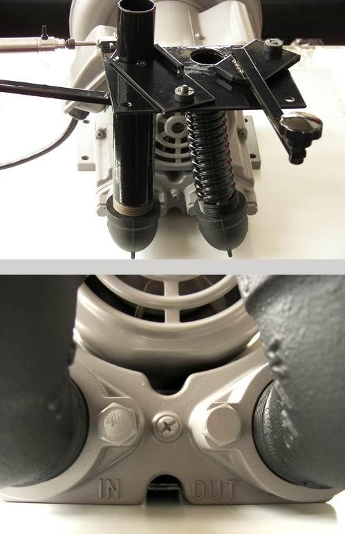 vacuum table blowback valve