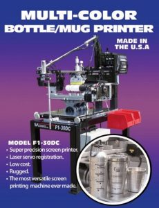 bottle mug screen printer