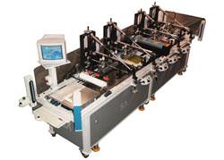 Embossed Overlay Screen Printing Machine