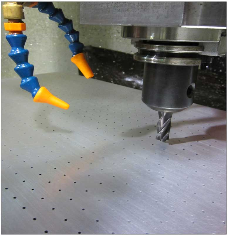 Customized CNC Vacuum Hold Down Tables