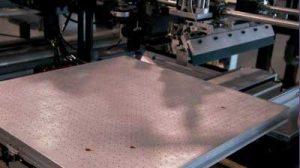 screen printing vacuum table