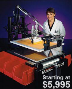 Model F1 Screen Printer