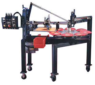 Frisbee Screen Printing Machine