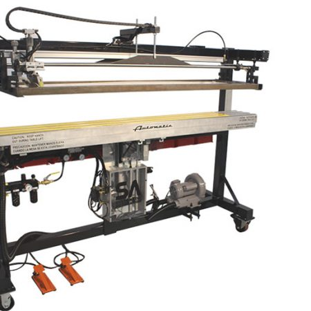 ruler screen printer