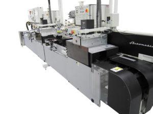 six color screen printing machine