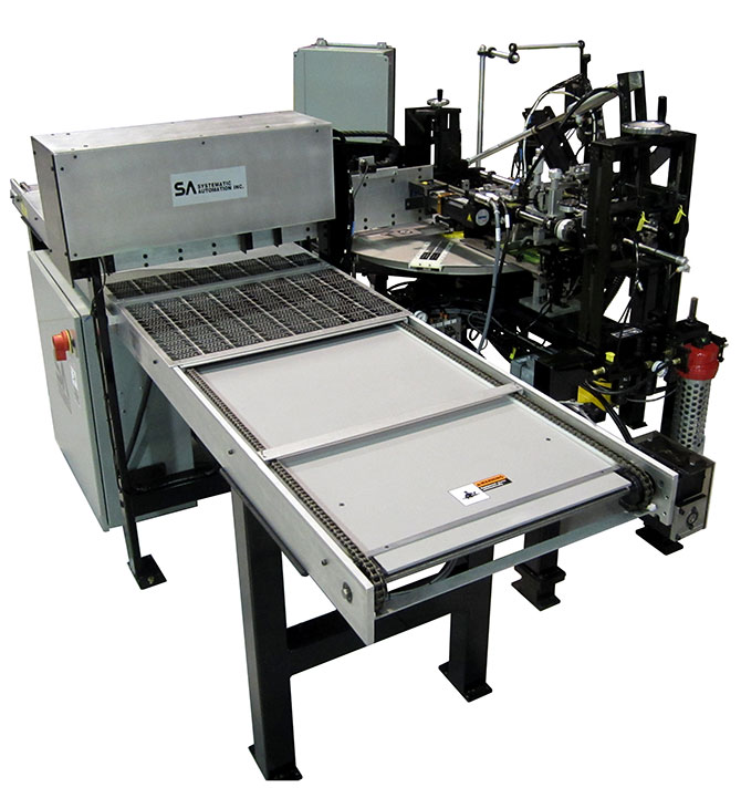 microscope slide screen printing machine