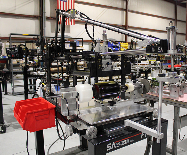 growler, screen printing machine, systematic automation