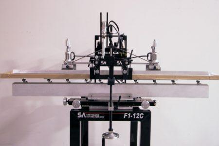 long product screen printing