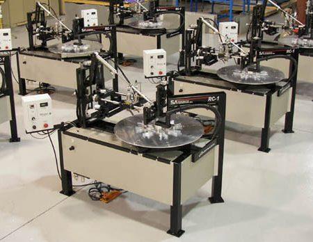 rotary index screen printer
