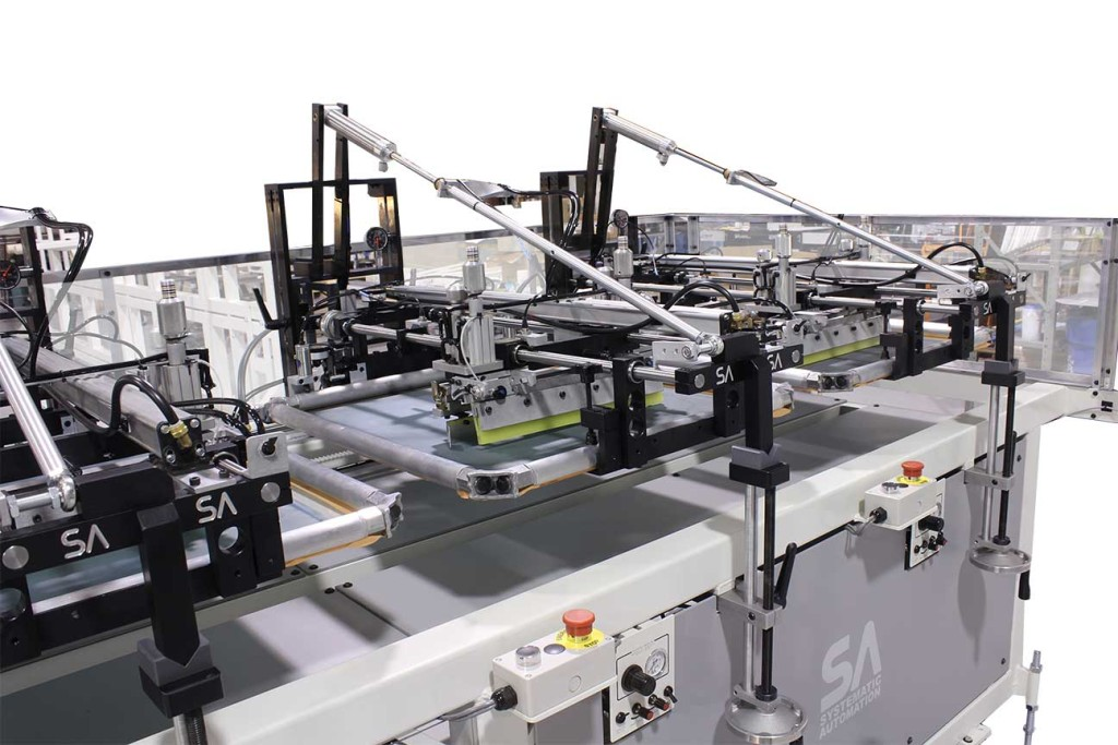 The Gasket Screen Printing Machine