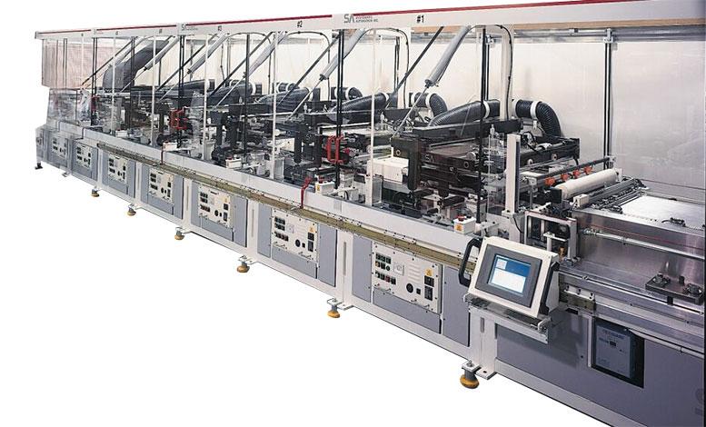 Model SX Automatic Screen Printer