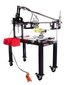 f1-dc, f1, screen printing machine, labware, glass