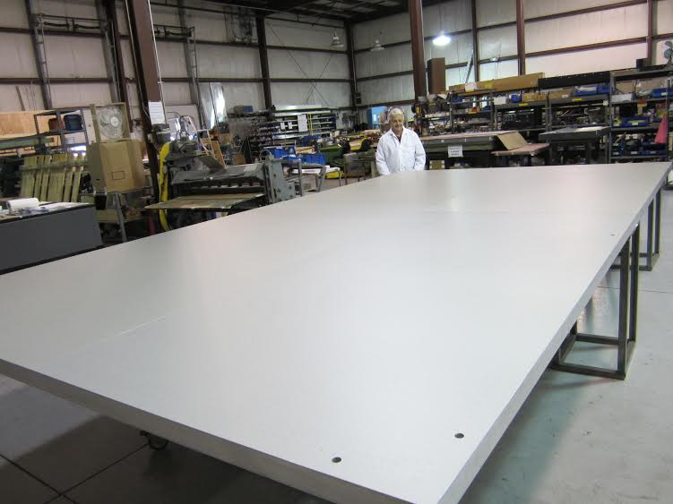 vacuum table, suction table, systemaitc automation, flattest, aerospace