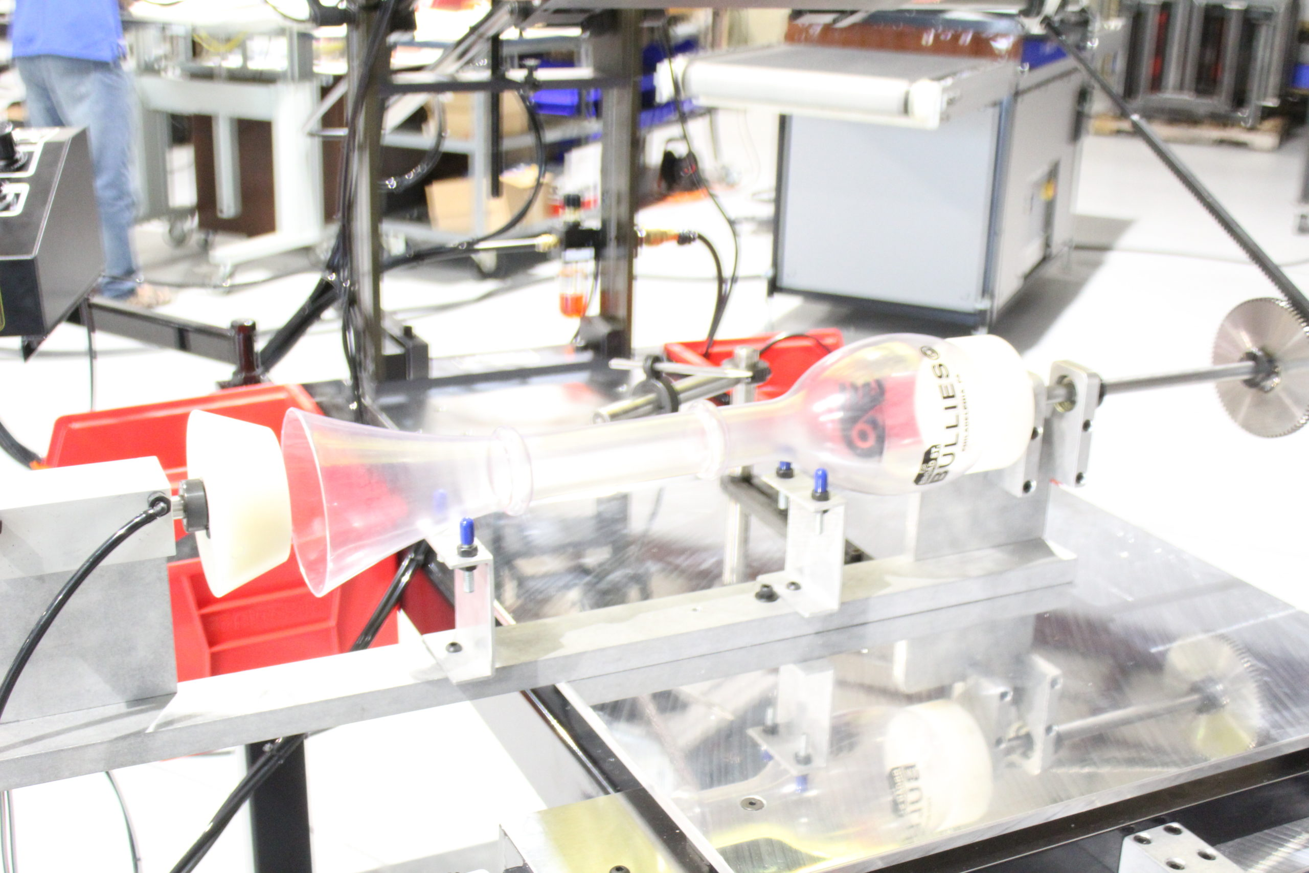 bottle, screen printing machine