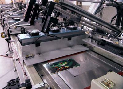 Multicolor screen printing