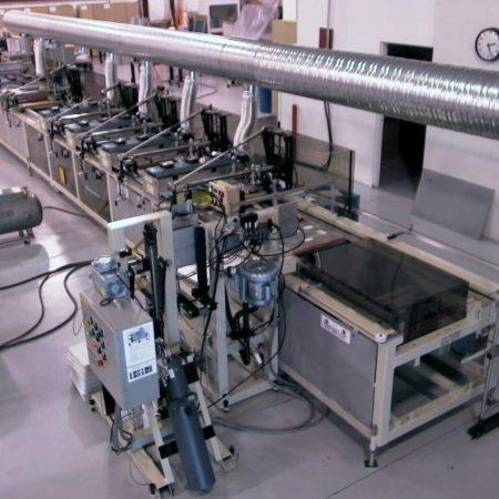 Model SX Automatic Multicolor Screen Printer
