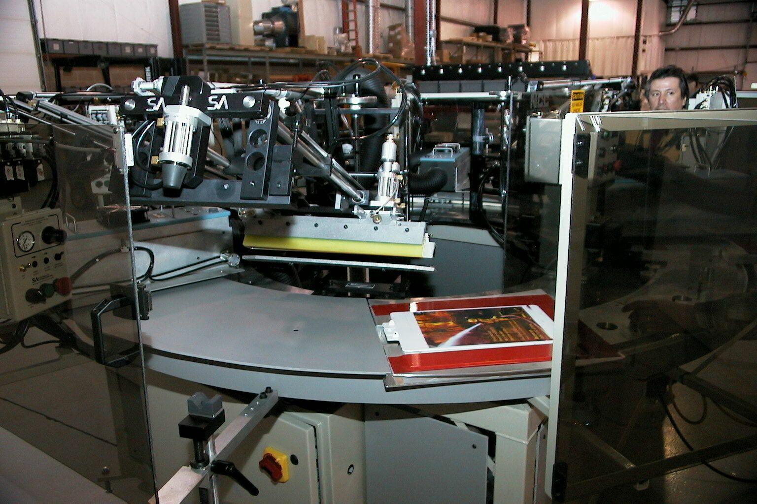 Model NCC Automatic Multi-Color Screen Printer