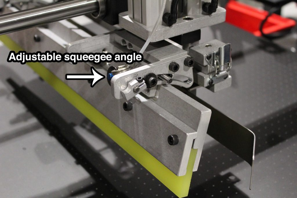 Adjustable Squeegee Angle