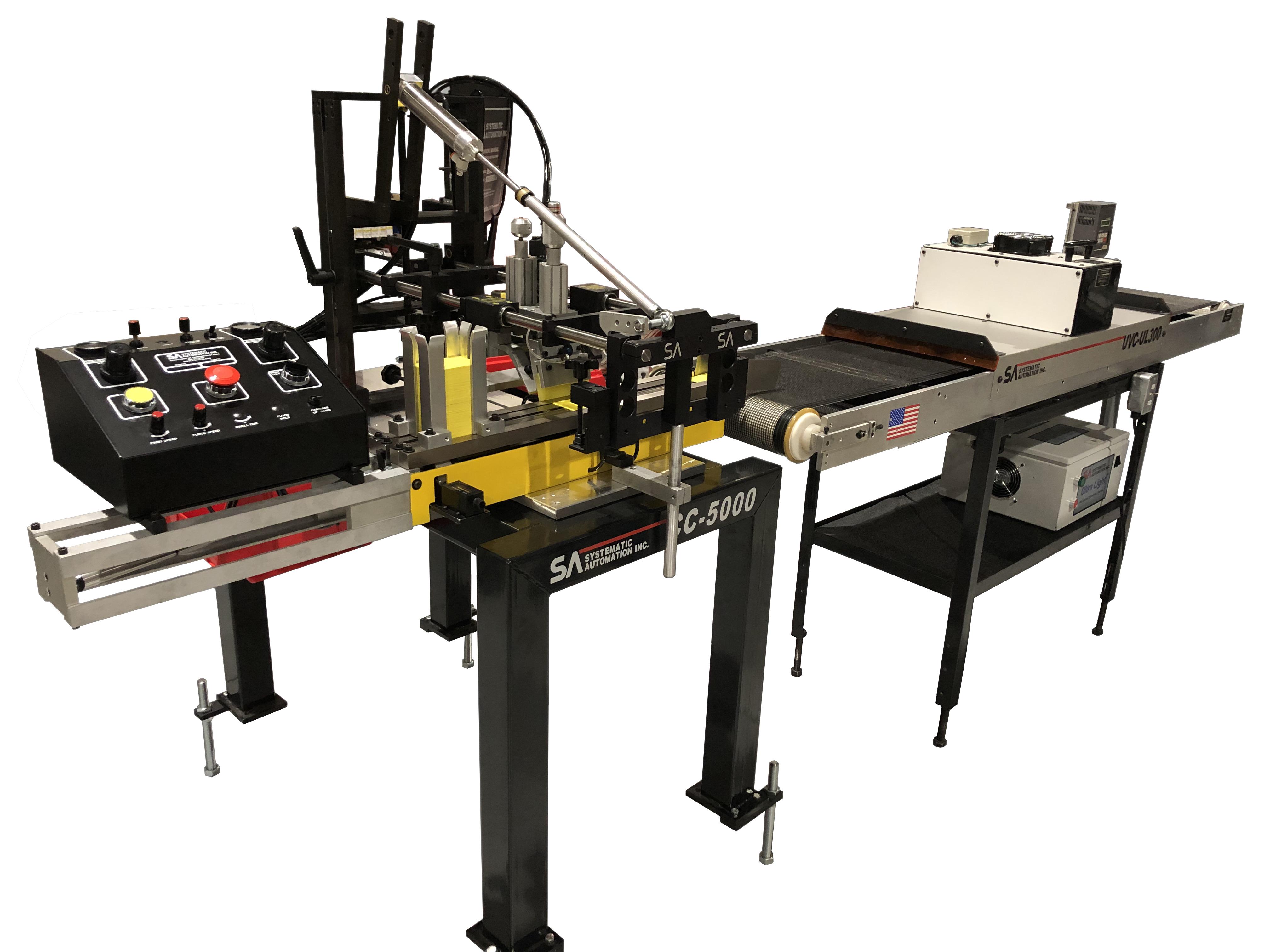 Model CC-5000 Automatic Screen Printer