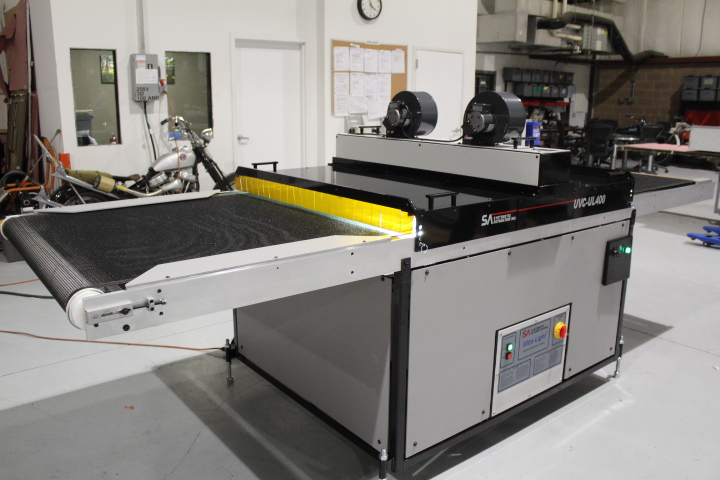 Large Format UV UltraLight Conveyor