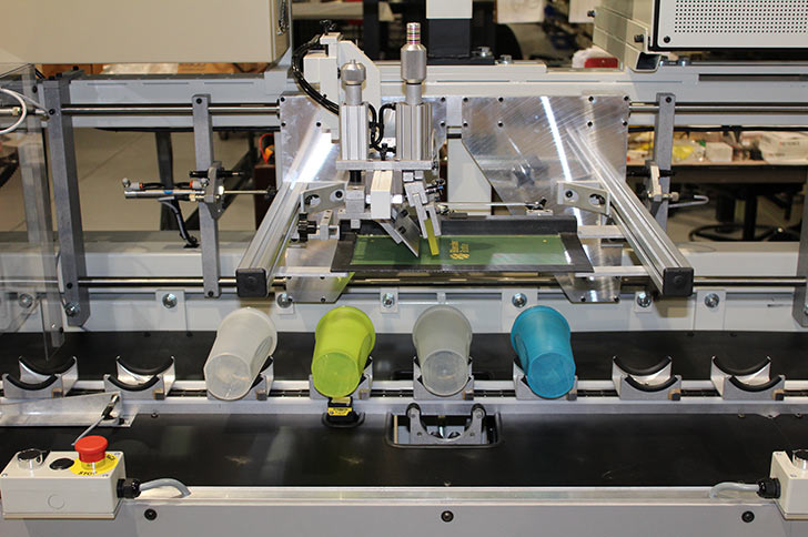 Single or Multi-Color Plastic Cup Printing Machine