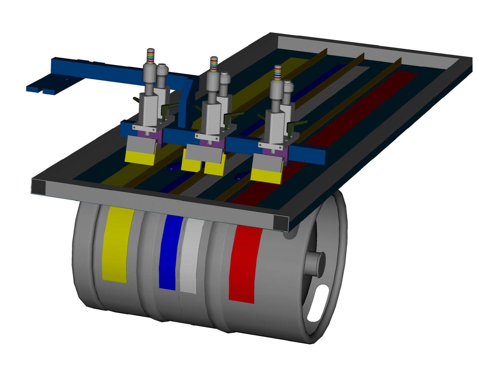 Multi-Color Screen Printing Attachment