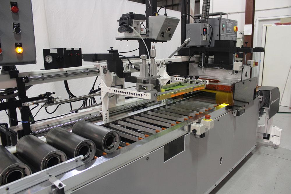 Oil Filter Screen Printing