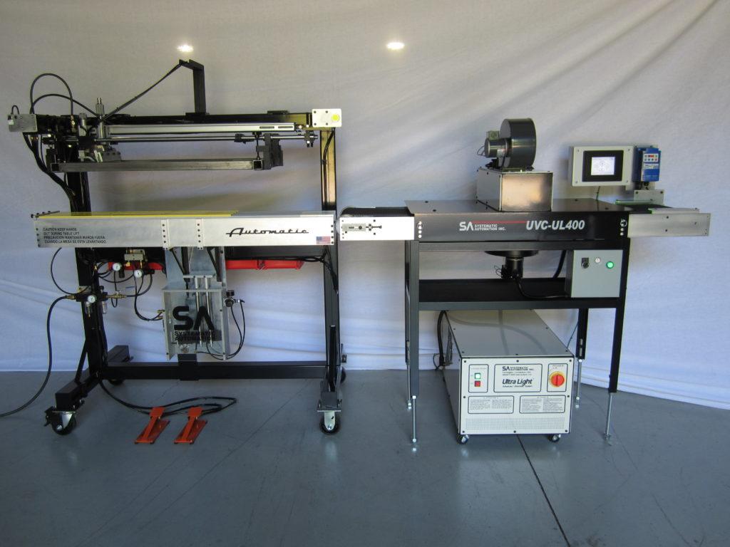 large format screen printing, ruler printer