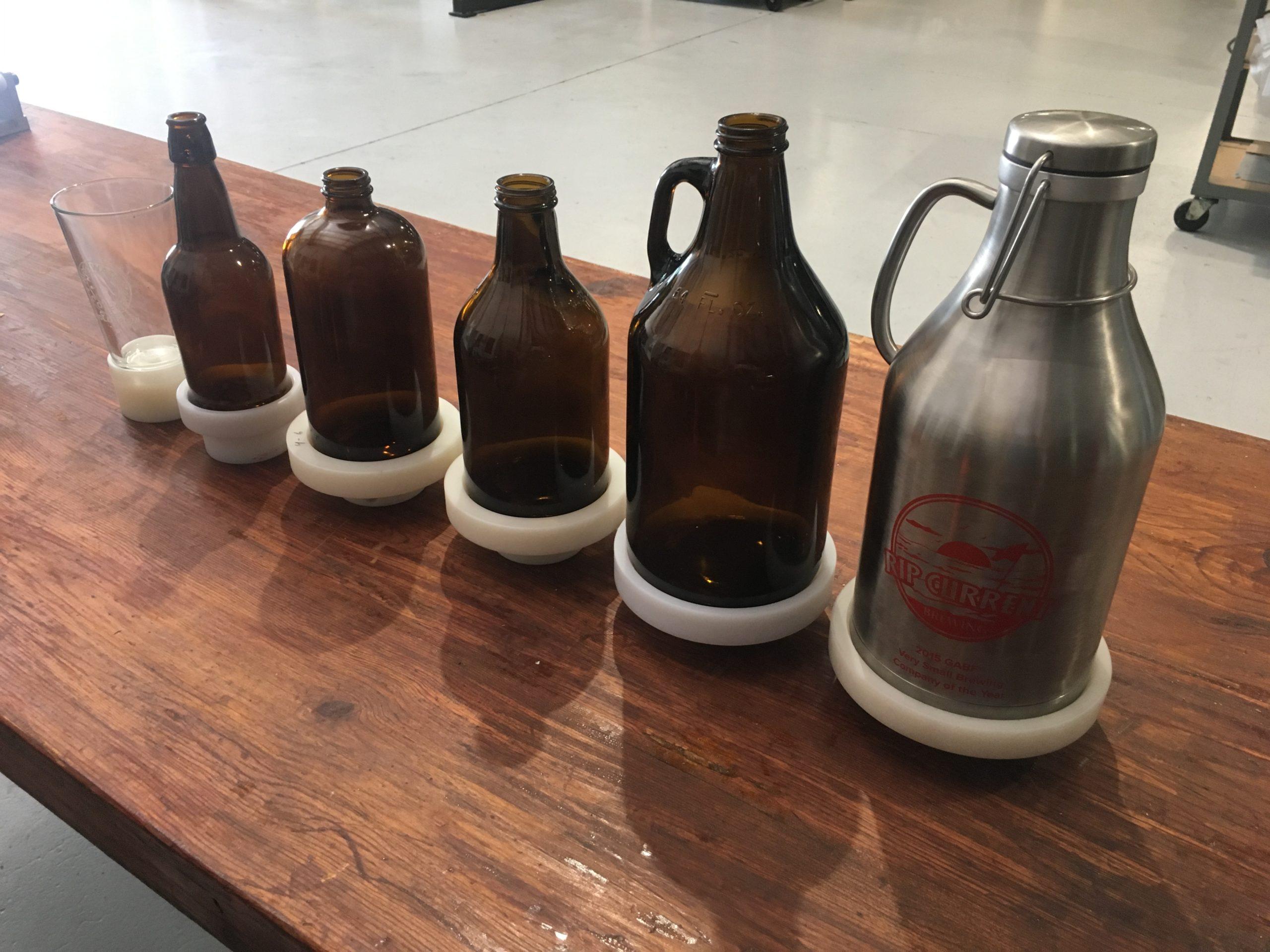 glassware tooling, pretreatment, flame treatment