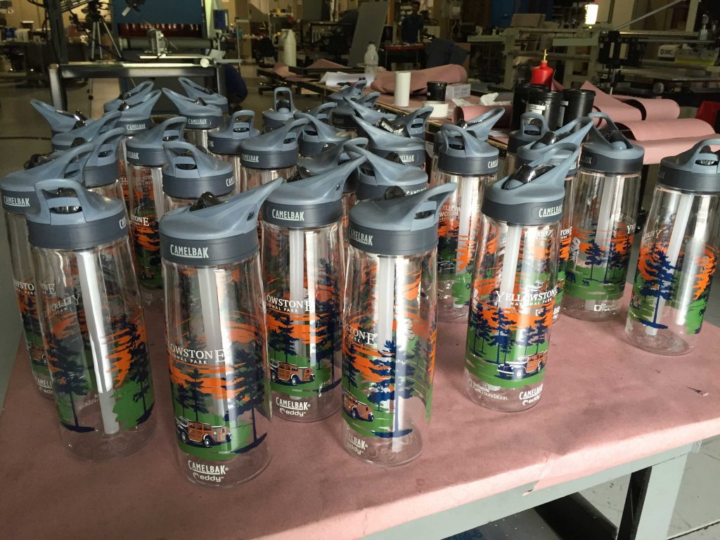Multi-color Screen Printing on Cylindrical Products