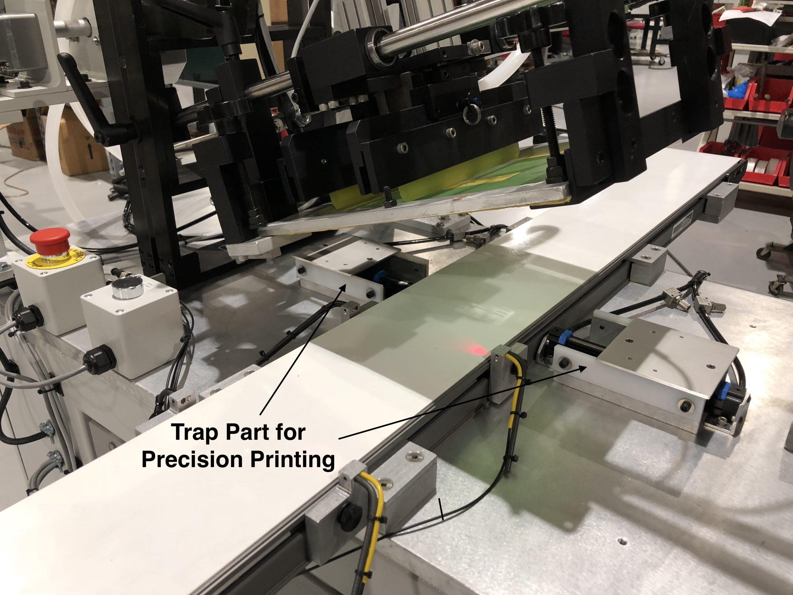 belt print, screen printer, screen printing machine, conveyor belt printing