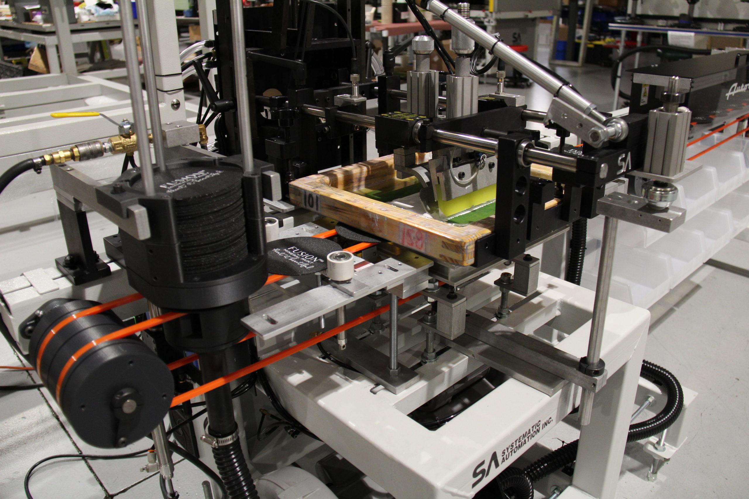screen printing machine, print belt, automatic
