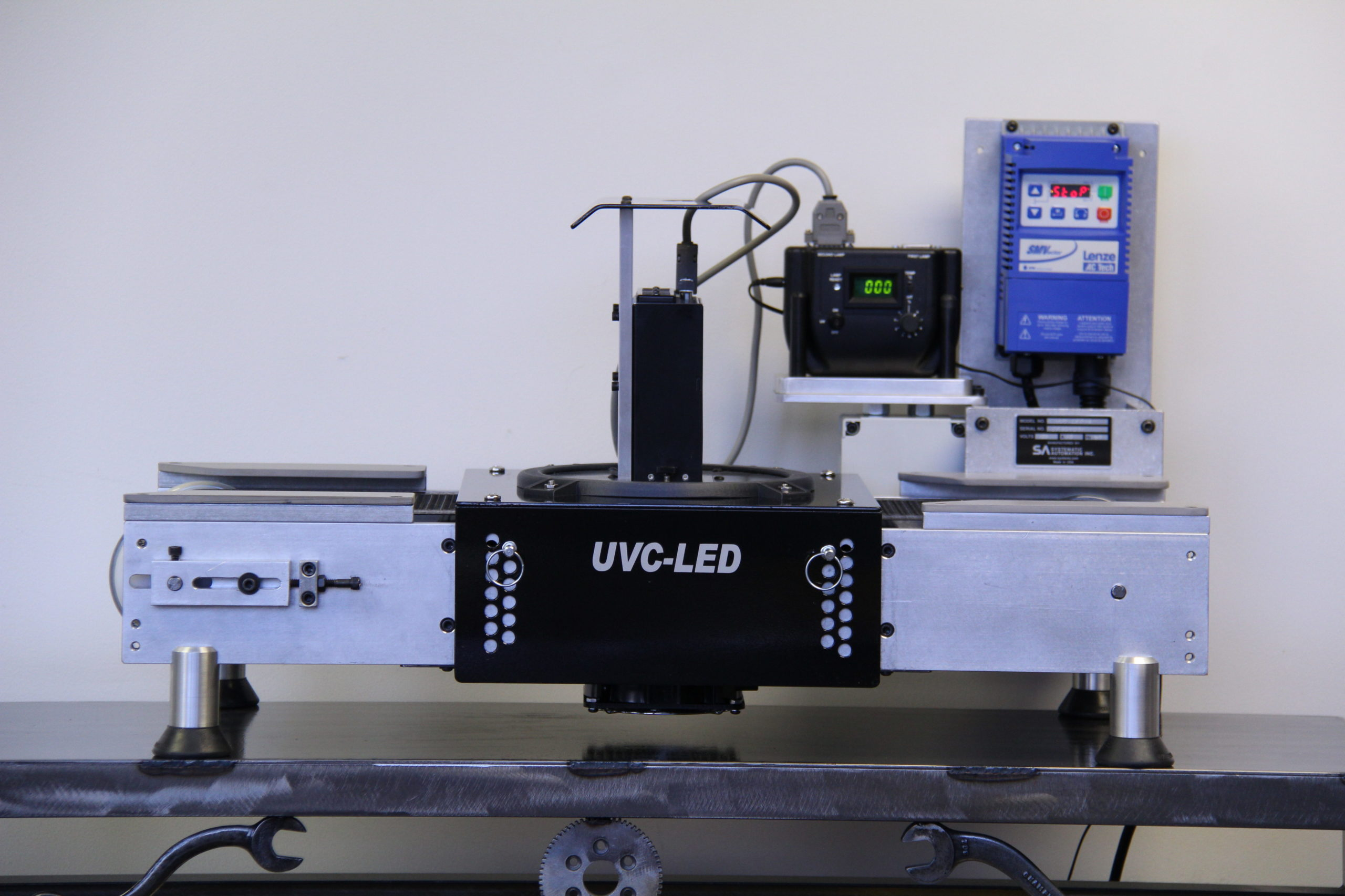 UV LED, conveyor