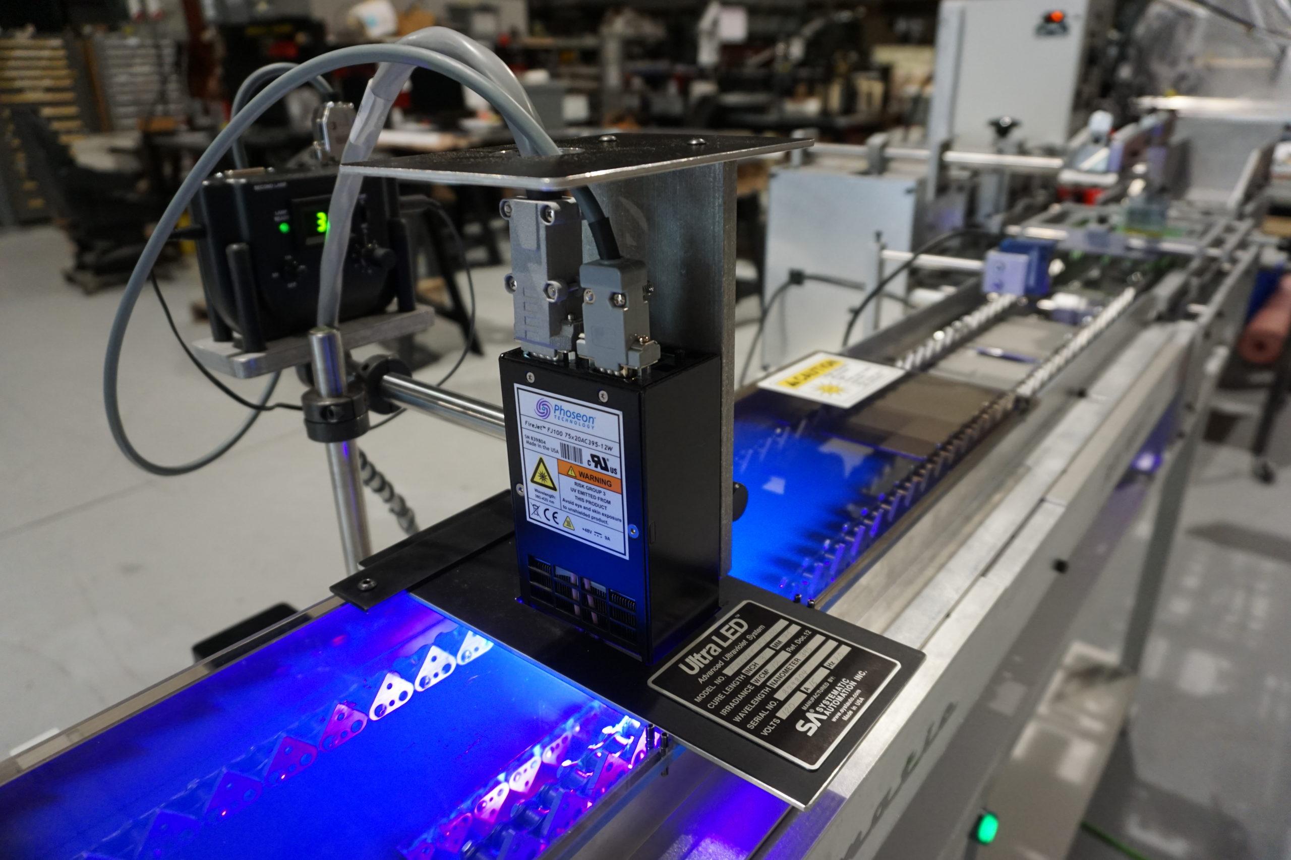 pen screen printing, UV led