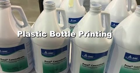 F1-DC Plastic Bottle Printing with Mechanical Registration & Inflation