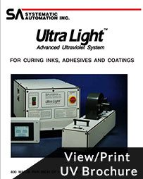 our uv curing machines brochure