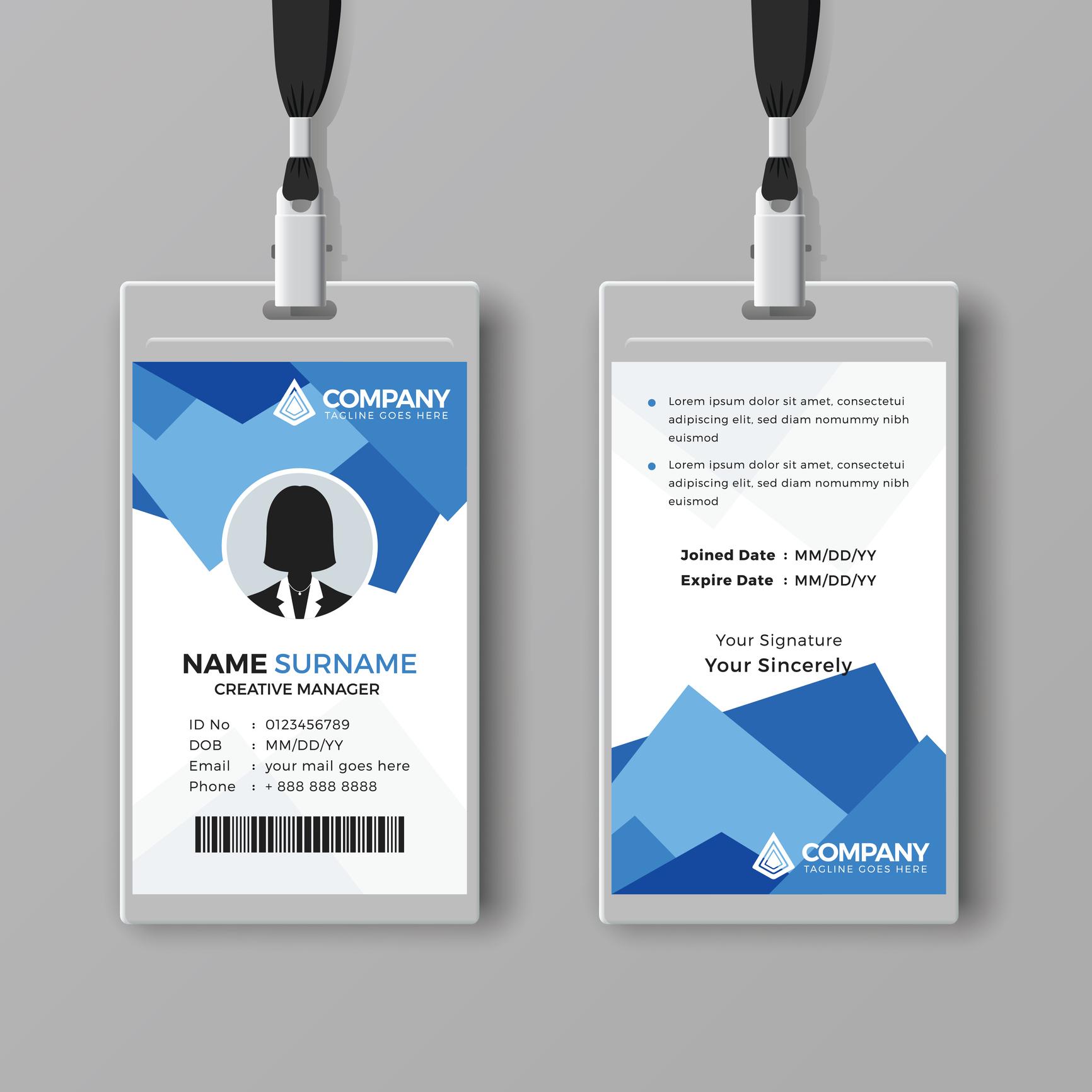Multipurpose ID card design