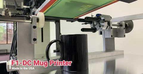 Model F1-DC Mug Printer