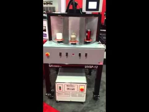 UV Spin Cure for curing your cylindrical products